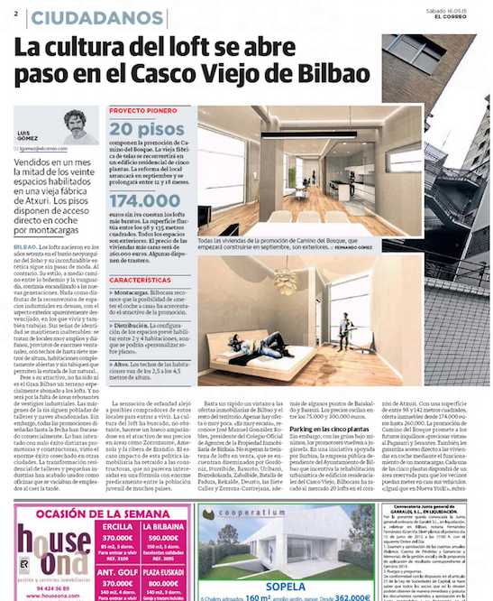 Loft Casco El Correo 1