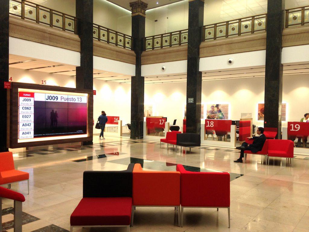 rehabilitaci n de una hist rica sucursal del banco de ForBanco Santander Bilbao Oficinas